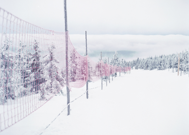 winter landscape film photography monika stachura
